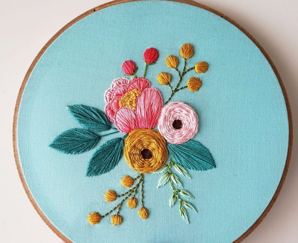 How to do Hand Embroidery on Clothes as a Beginner